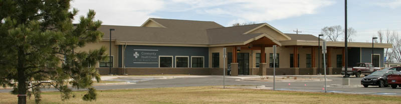 Photo of the Community Health Center of the Black Hills' entrance.